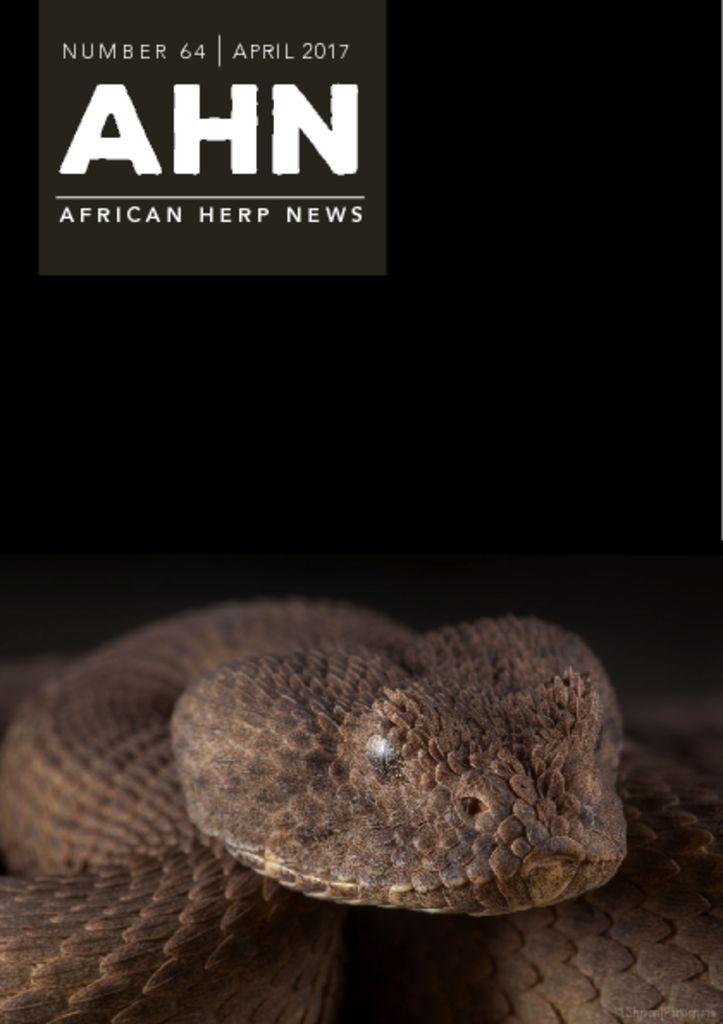 African Herp News